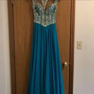 Rachel Allan formal gown size 0